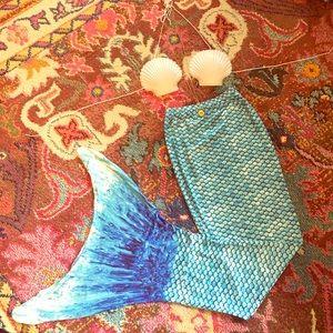 Accessories - LAST CHANCE! NWT Mermaid Costume